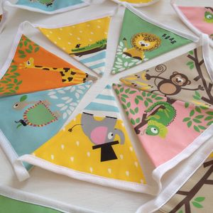 Children's Jungle Bunting - hanging decorations