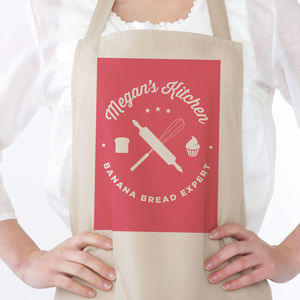 Baking Personalised Apron - kitchen accessories