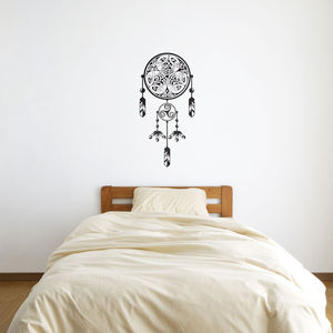Celtic Dragon Dreamcatcher Wall Art - wall stickers