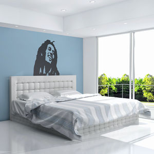 Bob Marley Vinyl Wall Art Decal - wall stickers