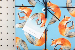 Fox Eco Gift Tags Set Of Six