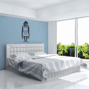 Banksy Monkey Vinyl Wall Decal - home decorating