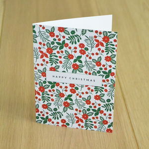 Floral Festive Charity Christmas Cards *Special Offer* - cards
