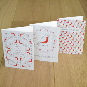 Robin Charity Christmas Card Pack *Special Offer*