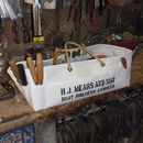 Personalised Recycled Sailcloth Workshop Tool Bag
