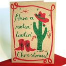 Rootin' Tooin' Christmas Card