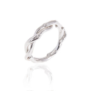 Entwined Sterling Siver Ring