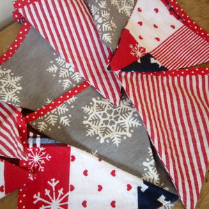 Christmas Bunting - children's room