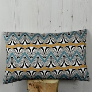 Deco Badger Pattern Cushion