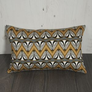 Deco Badger Chevron Patterned Cushion - cushions