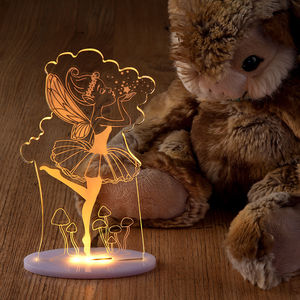 Girls Fairy Night Light - children's room accessories