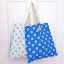 Spotty Shopper Bag