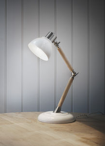 Ledbury Lamp In Porcelain - lighting