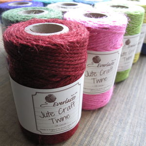 Jute Craft Twine - finishing touches