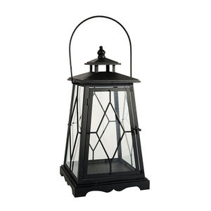 Black Bronte Candle Lantern - home