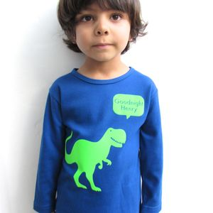 Personalised Dinosaur Pyjamas - children's nightwear