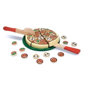Wooden Pizza - toys & games