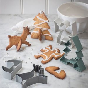 Christmas Cookie Cutters - baking