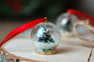 Small Christmas Tree Hanging Tree Bauble Decoration