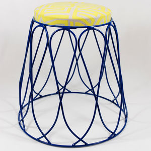 Loop Stools - living room