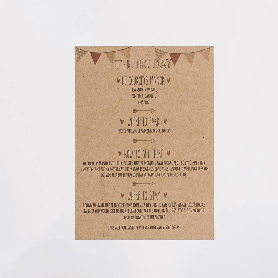 meant to be\' wedding invitation by something kinda cute ...