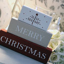 'Merry Christmas' Message Blocks