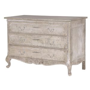 Heavily Distressed French Chest - furniture