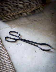 Coal Tongs Cast Iron - fireplace accessories