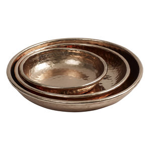 Copper Trays Set Of Three