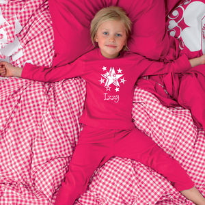 Girl's Personalised Pyjamas - clothing