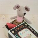 Vintage Style Matchbox Big Sister Mouse