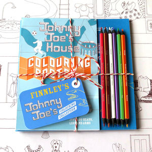 Personalised Johnny Joe Colouring Bundle - toys & games
