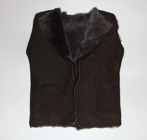100% British Sheepskin Baby Gillet