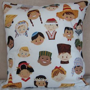 Children Of The World Cushion Cover