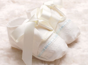 Boys Christening Booties 'Venice' - shoes & footwear