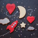 I Love You To The Moon And Back Biscuit Gift Set