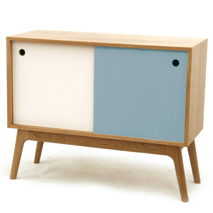 mid century sideboard by james design. Black Bedroom Furniture Sets. Home Design Ideas
