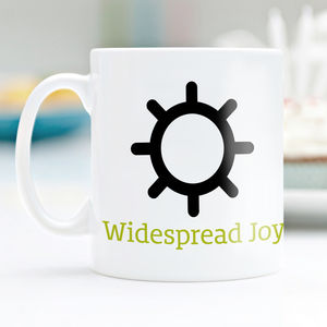 Weather Symbols Guide Mug