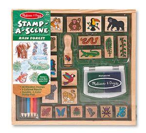 Rain Forest Stamp Set