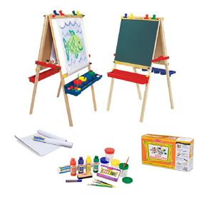 Deluxe Easel And Accessory Set - creative activities