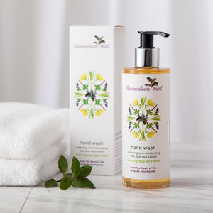 Lemongrass And Mint Hand Wash