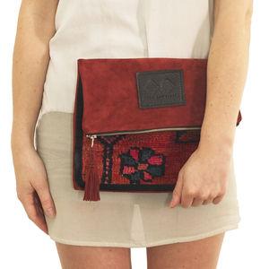 The Ama Slouchy Clutch Bag