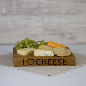 Personalised Solid Oak Chopping Board