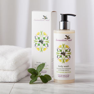 Lemongrass And Mint Body Wash - bathroom