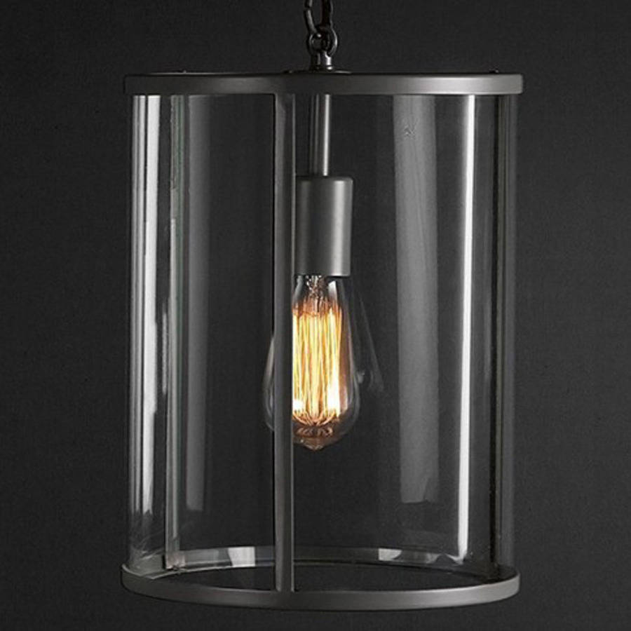 Charcoal Grey Wall Lights : pendant ceiling light in charcoal grey by garden selections notonthehighstreet.com