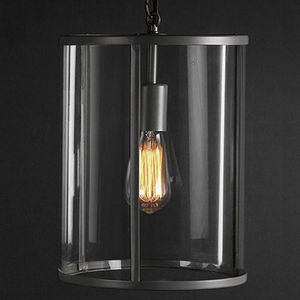 Pendant Ceiling Light In Charcoal Grey