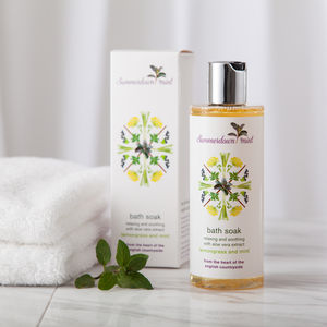 Lemongrass And Mint Bath Soak - bathroom