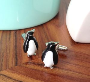 Monty Penguin Cufflinks