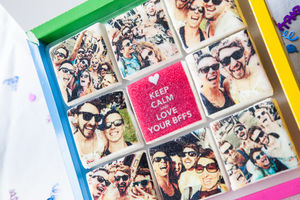 Photo Fectionery Marshmallow Gift Box - stocking fillers for her