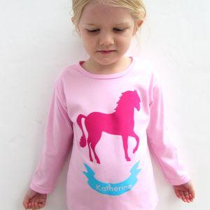 Personalised Horse Girls Pyjamas